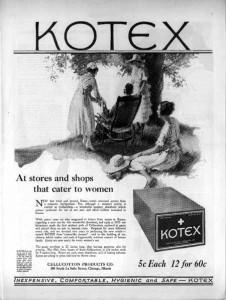 kotex advertentie