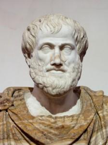 Lysippus. Buste van aristoteles