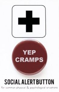 yep cramps button